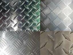 Алюминиевый лист рифленый 3 мм, алюминий