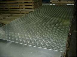 Алюминиевый лист рифленый 3x1000x2000 мм. ,1250х2500 мм.