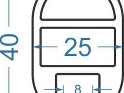 Алюминиевый лодочный оконный профильN1673 б.п.
