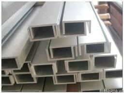 Профиль П образный алюминиевый 12х12х1, 0 мм