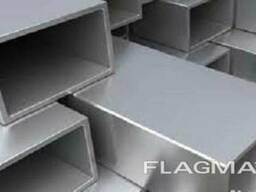 Алюминиевая труба прямоугольная 60x30x2Анод 15 мкм