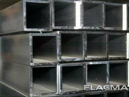 Алюминиевая труба прямоугольная 80x40x2