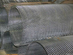 Алюминиевый Просечно -вытяжной лист TH MR10/5x1x0,8/1000x200