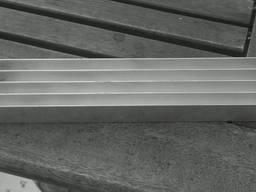 Алюминиевый радиаторный профиль 135х68. 5 анод