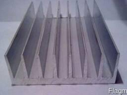 Алюминиевый радиаторный профиль 135x68, 5