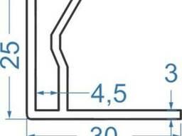 Алюминиевый рекламный профиль 30х25