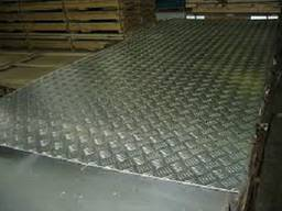 Лист алюминиевый рифленый 1050(АД0) 4, 0х1250х2500мм
