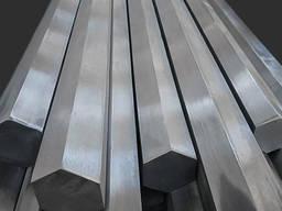 Дюралюминиевый шестигранник 48 Сплав Д16Т