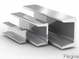 Швеллер алюминиевый 120х40х4мм купить, склад, цена,