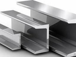 Алюминиевый швеллер (П-профиль) 25x25x2 б. п