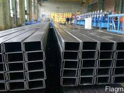 Швеллер алюминиевый (п-образный) ПАА-3088 20х20х1. 5 / б. п.