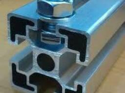 Алюминиевый станочный профиль 30x60 мм