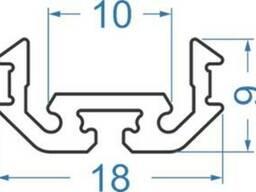 Алюминиевый светодиодный профиль 18x9