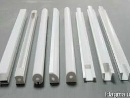 Алюминиевый светодиодный профиль 135x68, 5 анод черн. купить