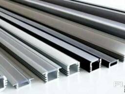 Алюминиевый светодиодный профиль 26х8 АД31 Т5 ГОСТ