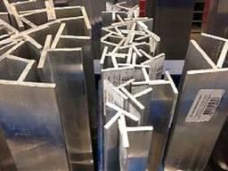 Тавр алюминиевый 60x45x4x4 ГОСТ 13622-91, марка АД31Т, АД31