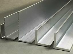 Уголок алюминиевый 100х40х4, алюминий купить, цена