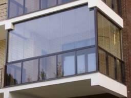 Алюминиевые балконы, террасы