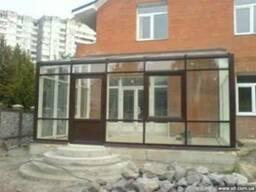 Алюминиевые фасады, зимние сады, перегородки, басейны, окна,