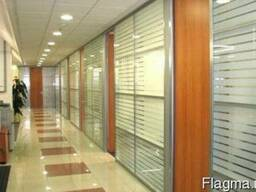 Алюминиевые окна и двери, алюминиевые конструкции, перегородки