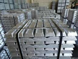 Алюминий в чушках Ак7п, купить алюминий, цена, гост, АК8