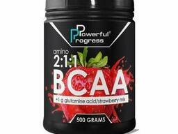 Аминокислоты Powerful Progress Amino BCAA 2:1:1 + Glutamine