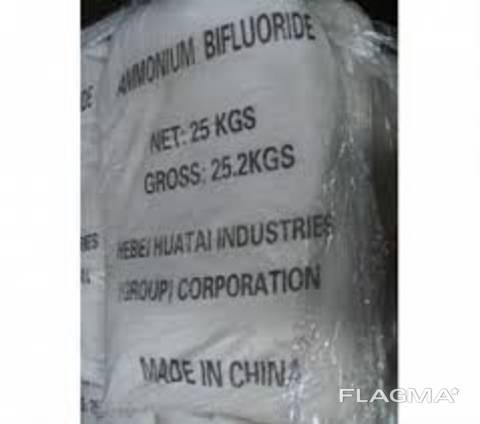Аммоний бифторид ( аммоний фтористый кислый )