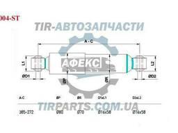 Амортизатор d/d/267-383/16x58/16x58/82/72 AL-KO. ..