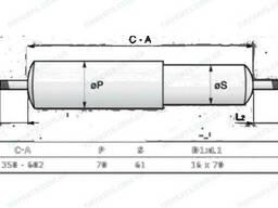Амортизатор Renault, P (350-602, I / I) (5010383693  . ..