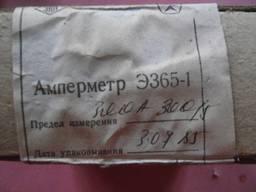Амперметр Э365-1 300 А 300/5