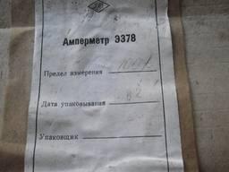 Амперметр Э378 100 А