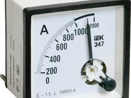 Амперметр и вольтметр Э47 ИЕК все токи и напряжения