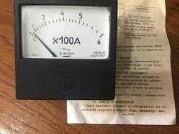 Амперметр переменного тока щитовой Э8030 600А 600/5