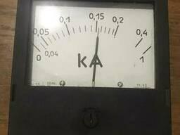 Амперметр щитовой переменного тока Э365-2 (ассортимент)