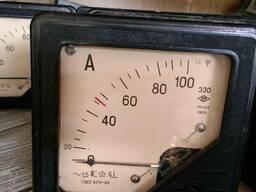 Амперметры Э30, М367, вольтметры М362, фазометры Д363