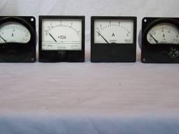 Амперметры переменного тока Э8021 30А, 50А(50/5), Э8025 50А, Э8030 5А,