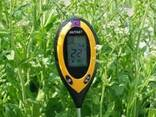 Аналізатор показників ґрунту (щуп агронома) 4 в 1, рH-метр - фото 5