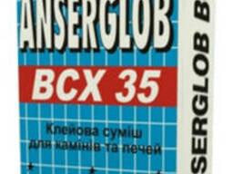 """""""Анцерглоб"""" ВСХ-35 клей для каминов и печей 25кг"""