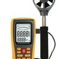 Анемометр Benetech GM8902 (0.3-45m/s; 0-45ºC; 0-999900m3/mi