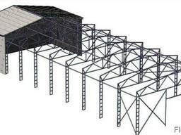 Зернохранилище 15х60 Ангар Склад
