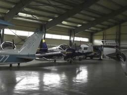 Ангары для самолетов и вертолетов. Авиационный ангар .
