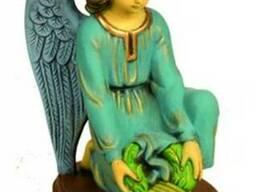 Скульптура Ангела с венком