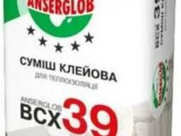 """Клей для приклеивания теплоизоляции """"ВСХ-39"""" """"Anserglob"""" 25"""