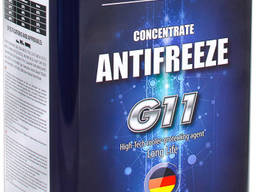 Антифриз EVO Antifreeze G11 Concentrate Blue (5кг)