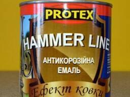 Антикоррозионная эмаль с эффектом ковки Hammer Line Protex