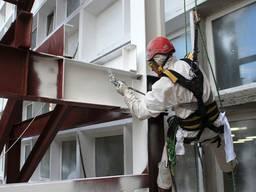 Антикоррозионное покрытие-краска для цветных и черных металлов