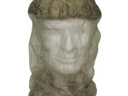 Антимоскитная сетка на голову с резинкой зелёная MFH