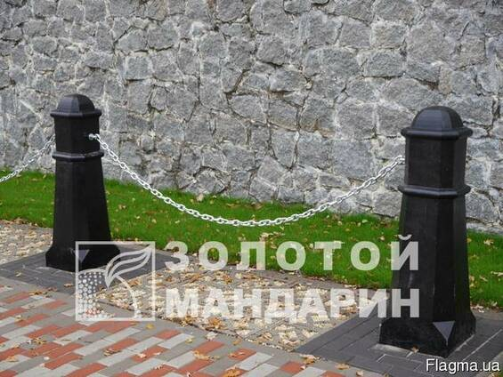 Антипарк. стовп Октаедр черный