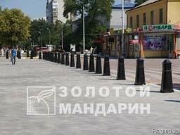 Антипарк. стовп Октаедр черный - фото 2