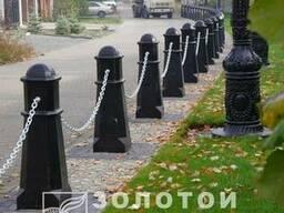Антипарк. стовп Октаедр черный - фото 3